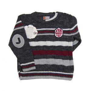 Sweter paski 68/74, 80/86