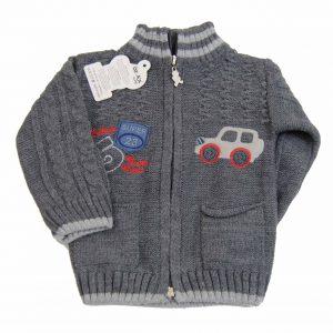 Sweter rozsuwany 68